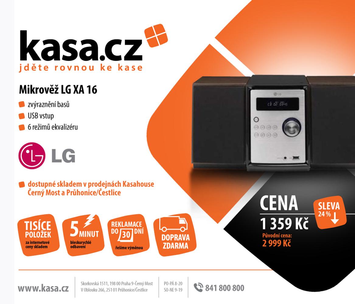 Print advertising for www.kasa.cz